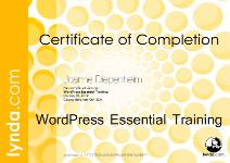 WordPressEssentialTraining